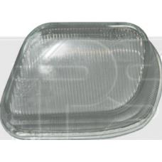 Стекло фары противотуманное Mercedes 210 95-99 (E-CLASS) левое (рифленое).  FPS