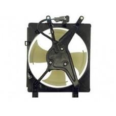 Bентилятор радиатора кондиционера Civic 2001-2005 SDN(ES)/COUPE(EM) Honda D=280мм. Лопостей 4. FPS
