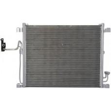 РАДИАТОР КОНДИЦИОНЕРА на FX35 / FX50 09-13 (3.5, 3.7, 5.0) коробка  авт. NISSENS без осушителя.
