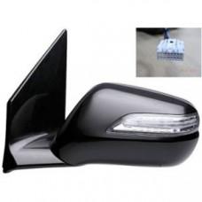 Зеркало боковое Acura MDX 06-13 левое с указателем поворота и обогревом