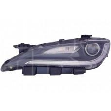 Фара 200 14-16 левая хром вставка+ LED.