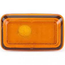 Повторитель поворотов указатель поворота на крыле 100/200 1982-1991 левый=правый желтый; -ЛАМПА +ПАТРОН.