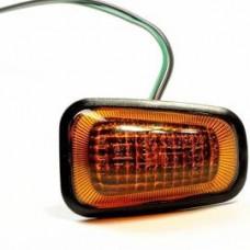 Повторитель поворотов с лампой указатель поворота на крыле Daewoo ESPERO 95-99 левый=правый желтый; +ПРОВОД.