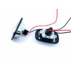 Повторитель поворотов с лампой указатель поворота на крыле Daewoo ESPERO 95-99 левый=правый белый; +ПРОВОД.