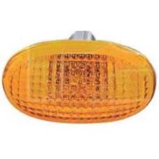 Повторитель поворотов с лампой указатель поворота на крыле  LEGANZA 97-03 левый=правый желтый; +ЛАМПА.