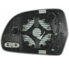 Вкладыш зеркала A6 08-11 C6  левый с обогревом.