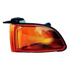 Указатель поворота  Mitsubishi GALANT 97-03 (EA) левый, желтый  (EUR.)+лампа. DEPO