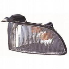 Указатель поворота  Mitsubishi GALANT 97-03 (EA) левый, белый  (EUR.)+лампа. DEPO