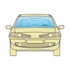Лобовое стекло Opel Ascona 1981-1988