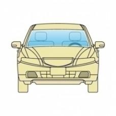 Лобовое стекло Toyota Auris 2007-2012 AGC без датчиков