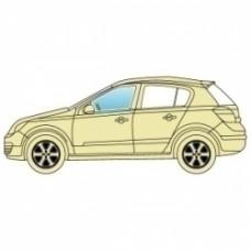 Стекло боковое Toyota Yaris 1999-2006