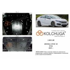 Honda Civic X 4D седан   2015-