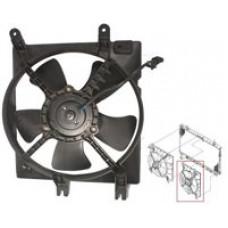 ВЕНТИЛЯТОР радиатора в сборе Aveo 04-06 SDN/HB (T200)