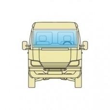 Лобовое стекло Citroen C25 1981-1994