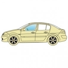 Стекло боковое Hyundai Accent 1999-2005 переднее левое Седан