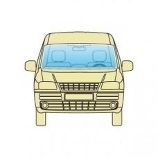 Лобовое стекло Fiat Doblo 2010+ LAMISAFE