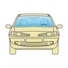 Лобовое стекло Fiat Linea 2007+