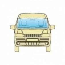 Лобовое стекло Fiat Doblo 2000-2014 SEKURIT