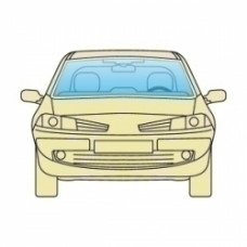 Лобовое стекло BMW 7 E65 / E66 2001-2008 Xinyi без обогрева и датчиков