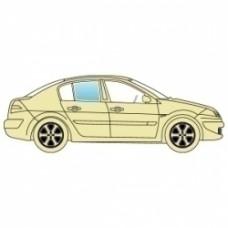 Стекло боковое Chrysler 300C 2005-2011 заднее правое седан