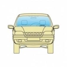Лобовое стекло Subaru Forester 2008-2012 PGW с обогревом