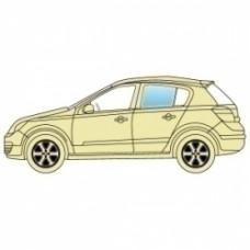 Стекло боковое Subaru Impreza 2007-2011 заднее левое Хэтчбек