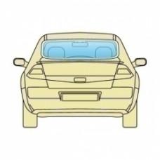 Стекло заднее Nissan Maxima QX (A33) 2000-2004
