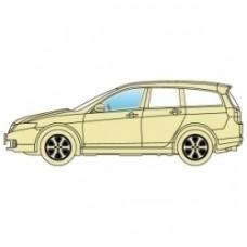 Стекло боковое Mitsubishi Grandis 2003-2011 переднее левое