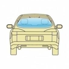 Заднее стекло Hyundai IX45  2012+ PILKINGTON