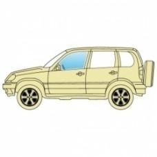 Боковое стекло Suzuki Jimny 1998+ преднее левое