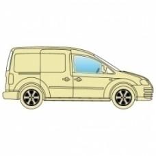 Боковое стекло Renault Kangoo 2008+ переднее правое
