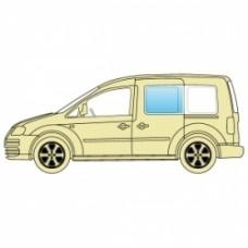 Стекло боковое Volkswagen Caddy 1995-2004 левое среднее. Xinyi