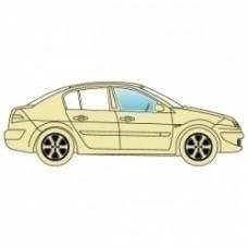 Боковое стекло Hyundai Sonata LF 2015 -  переднее правое