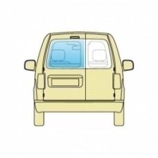 Стекло боковое Dacia Logan 2004-2012 Sdn Mcv заднее левое необогрев Универсал