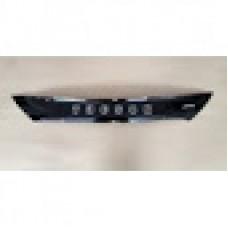 Дефлектор капота (мухобойка) на Хьюндай Туксон IX-35 с 2010> (на крепежах) короткая.