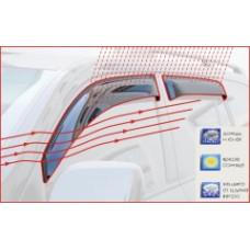 Дефлекторы окон (ветровики) на Рено Кенго с 97-08 (клеющие) AV Tuning